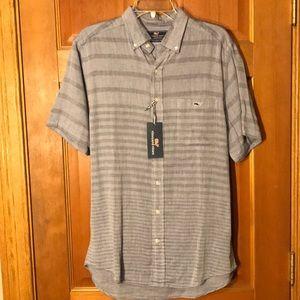 NEW Vineyard Vines Collared Shirt - Adult M